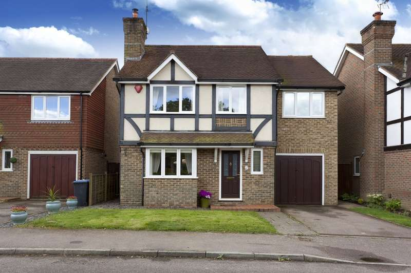 4 Bedrooms Detached House for sale in Cotsford, Old Brighton Road