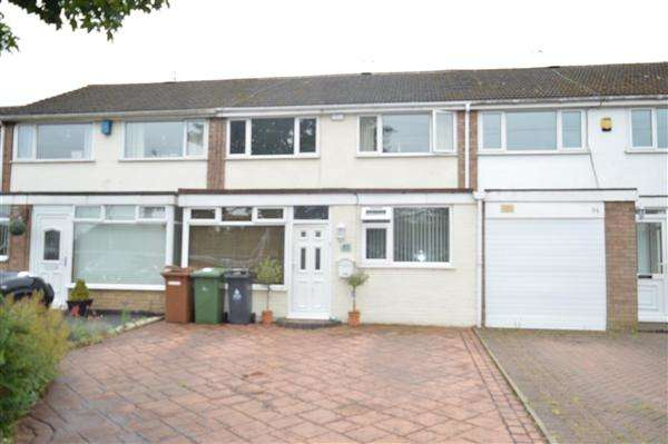 3 Bedrooms Terraced House for sale in Lowlands Avenue, Streetly, Sutton Coldfield