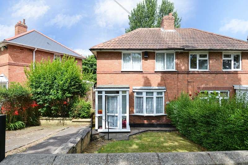2 Bedrooms Semi Detached House for sale in Harvington Road, Weoley Castle, Birmingham
