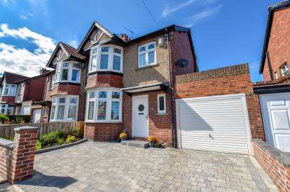 3 Bedrooms Semi Detached House for sale in Kenton Lane, Newcastle Upon Tyne, Tyne and Wear, NE3