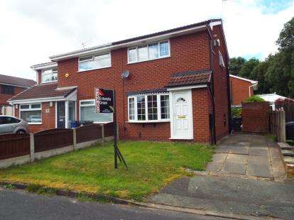2 Bedrooms Semi Detached House for sale in Dorrington Close, Murdishaw, Runcorn, Cheshire, WA7