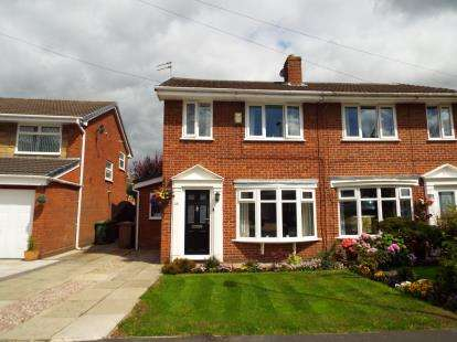 3 Bedrooms Semi Detached House for sale in Stirling Crescent, St. Helens, Merseyside, WA9