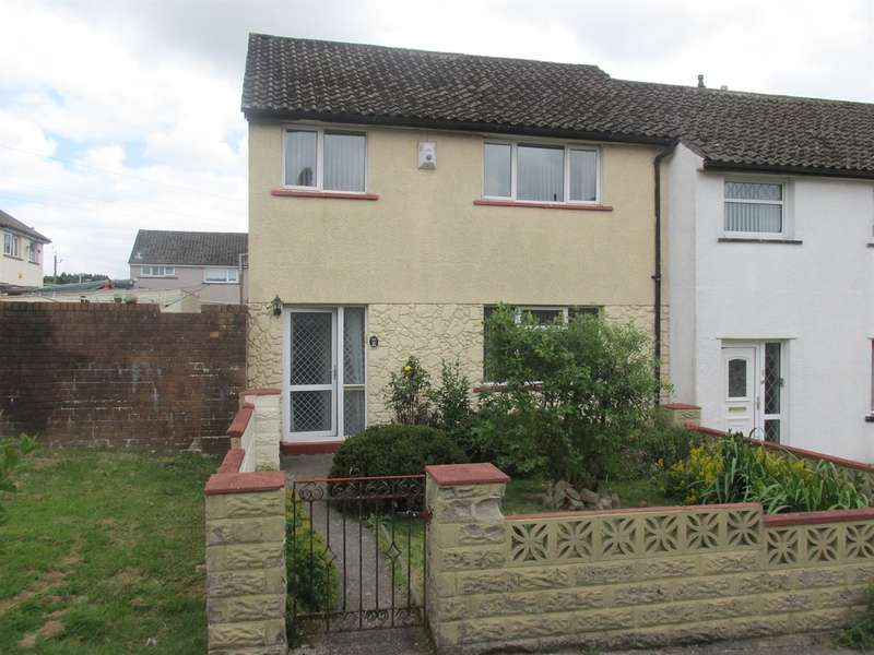 3 Bedrooms Terraced House for sale in Pine Close, Gurnos Estate, Merthyr Tydfil