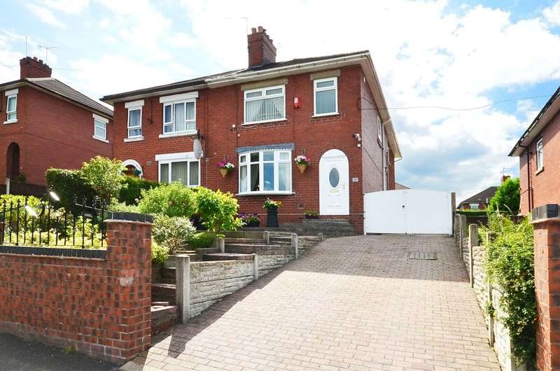 4 Bedrooms Semi Detached House for sale in ****NEW**** Sandon Road, Meir, ST3 7BN