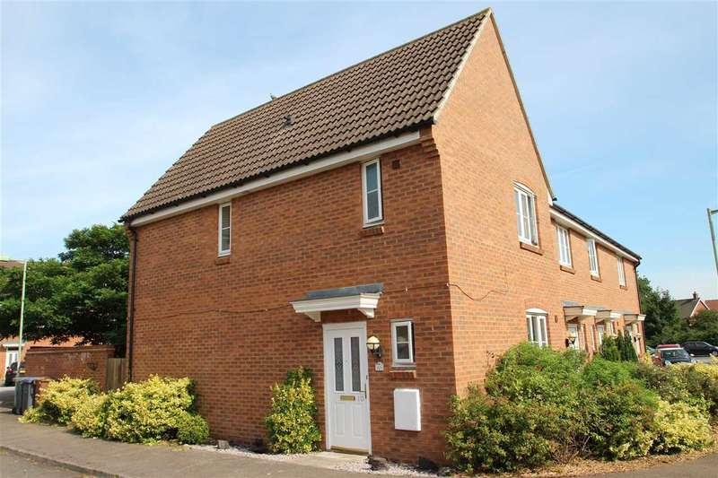 3 Bedrooms End Of Terrace House for sale in Walker Chase, Grange Farm, Kesgrave, Ipswich