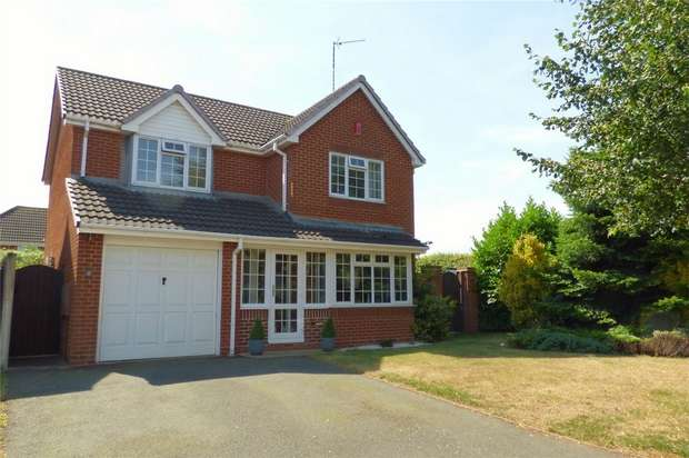 4 Bedrooms Detached House For Sale In Ribbonfields Attleborough Nuneaton Warwickshire