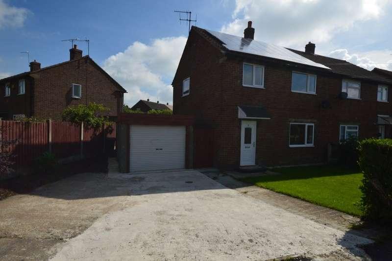 3 Bedrooms Semi Detached House for sale in Bracken Avenue, Heath, Chesterfield, S44