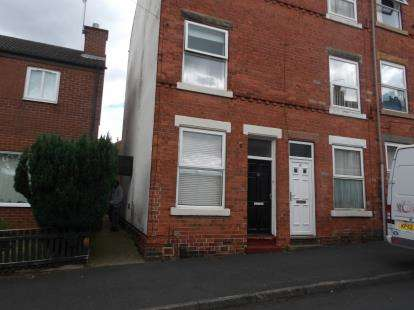 3 Bedrooms End Of Terrace House for sale in Maud Street, Nottingham, Nottinghamshire