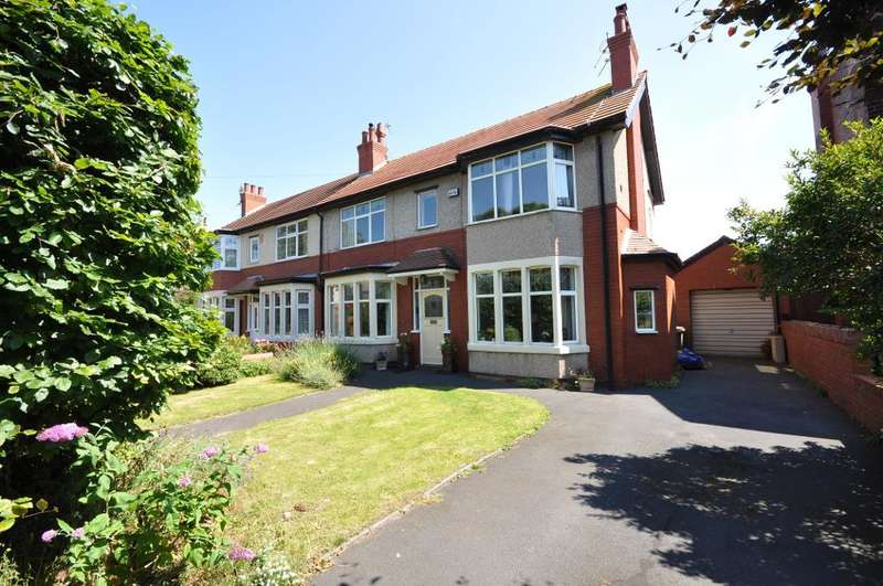 3 Bedrooms Semi Detached House for sale in Grange Road, St Annes, Lytham St Annes, Lancashire, FY8 2BN