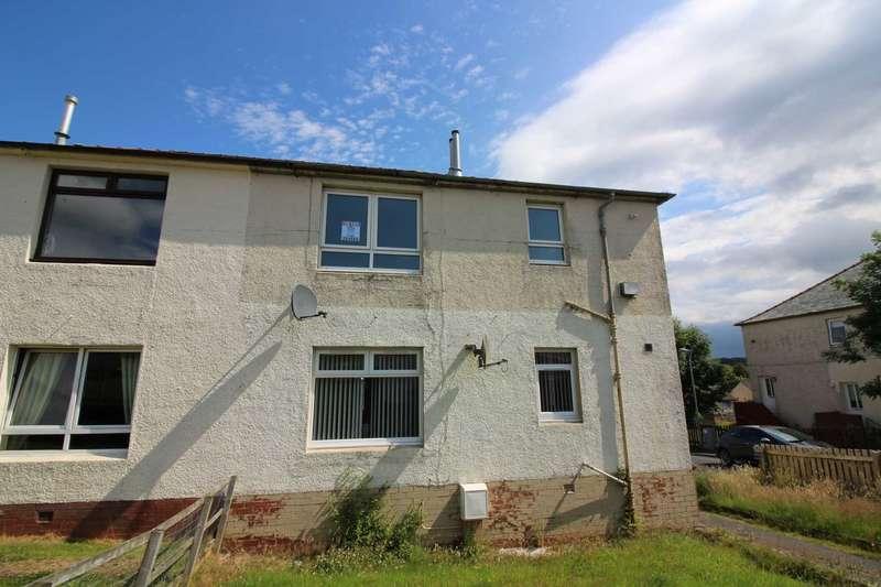 2 Bedrooms Flat for rent in Wylie Crescent, Cumnock