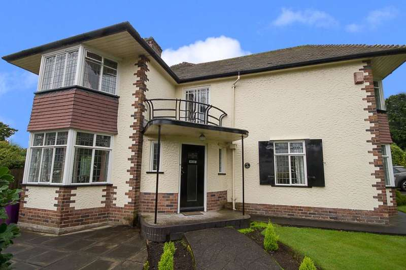 4 Bedrooms Detached House for sale in Greendale Road, Woolton, L25
