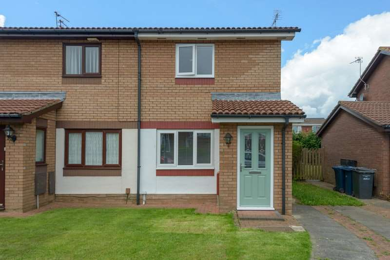 2 Bedrooms Semi Detached House for sale in Tharsis Road, Hebburn, Tyne and Wear, NE31