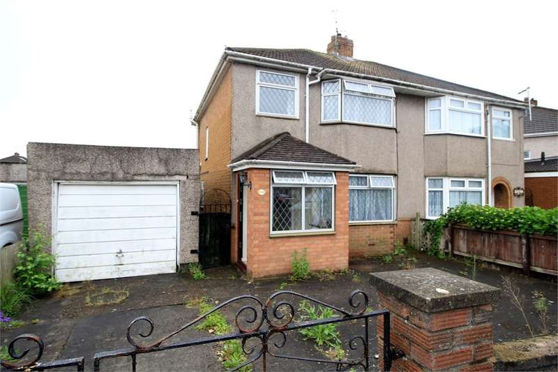 3 Bedrooms Semi Detached House for sale in Dorset Crescent, Newport, NP19