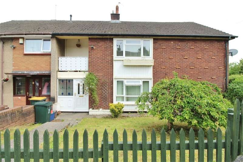 3 Bedrooms Flat for sale in Humber Close, Bettws, Newport, NP20