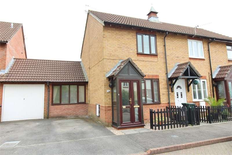2 Bedrooms End Of Terrace House for sale in Rachel Square, Newport, NP10