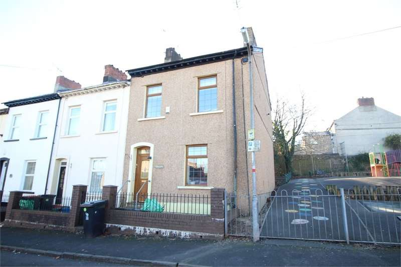 2 Bedrooms End Of Terrace House for sale in Victoria Crescent, Newport, NP20