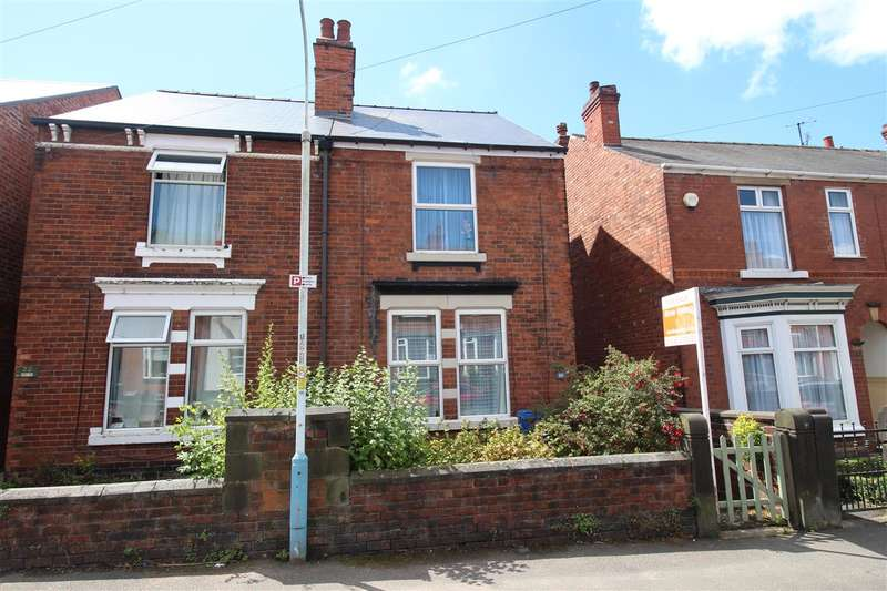 2 Bedrooms Semi Detached House for sale in Alexandra Road West, Chesterfield