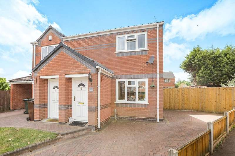 2 Bedrooms Semi Detached House for sale in Lavender Close, Pendeford, Wolverhampton, WV9