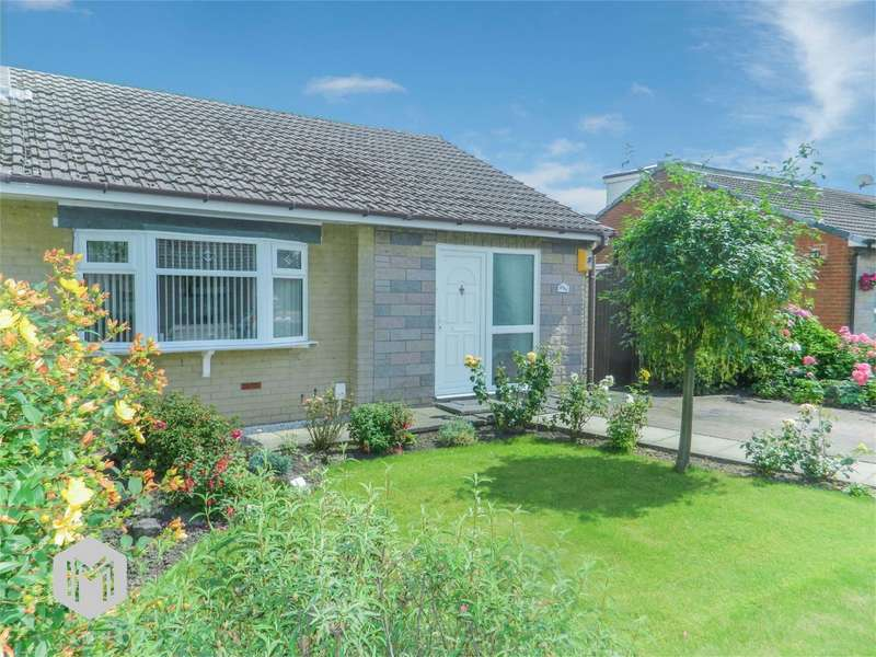 2 Bedrooms Semi Detached Bungalow for sale in Oak Avenue, Abram, Wigan, Lancashire