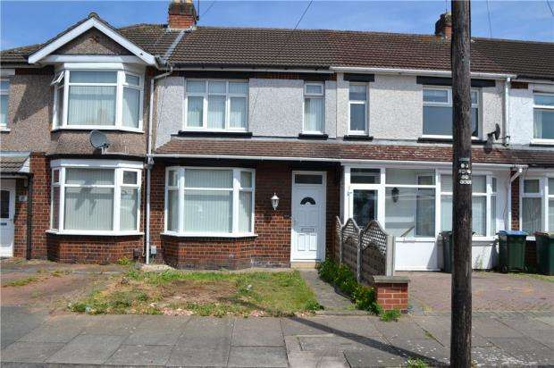 2 Bedrooms Terraced House for sale in Honiton Road, Wyken, Coventry, West Midlands
