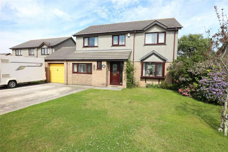 4 Bedrooms Detached House for sale in Merrits Way, Pool, Cornwall