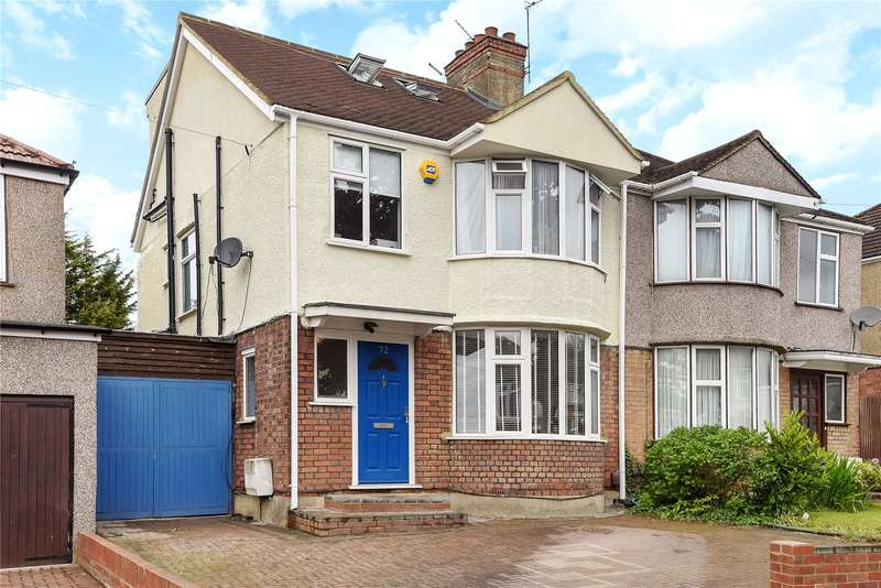 4 Bedrooms Semi Detached House for sale in Drummond Drive, Stanmore, Middlesex, HA7