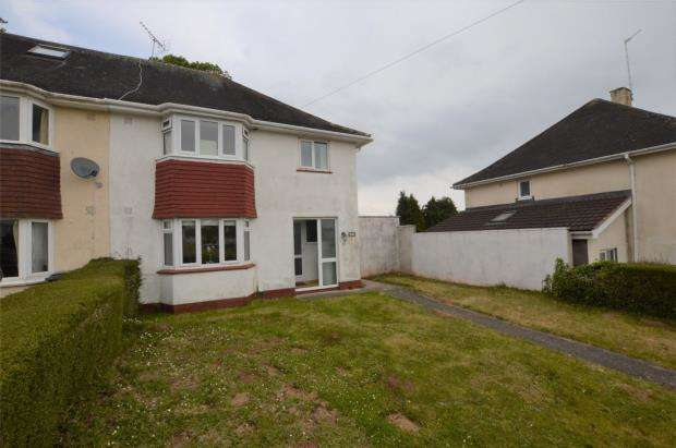 3 Bedrooms Semi Detached House for sale in Torridge Avenue, Shiphay, Torquay, Devon