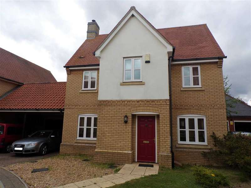 3 Bedrooms Link Detached House for sale in Tayberry Place, Ipswich