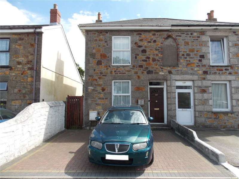2 Bedrooms Semi Detached House for sale in Agar Road, Illogan Highway, Redruth