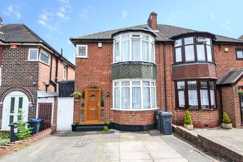 3 Bedrooms Semi Detached House for sale in Dockar Road, Northfield, Birmingham