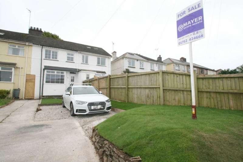 3 Bedrooms Terraced House for sale in Stentaway Road, Plymstock