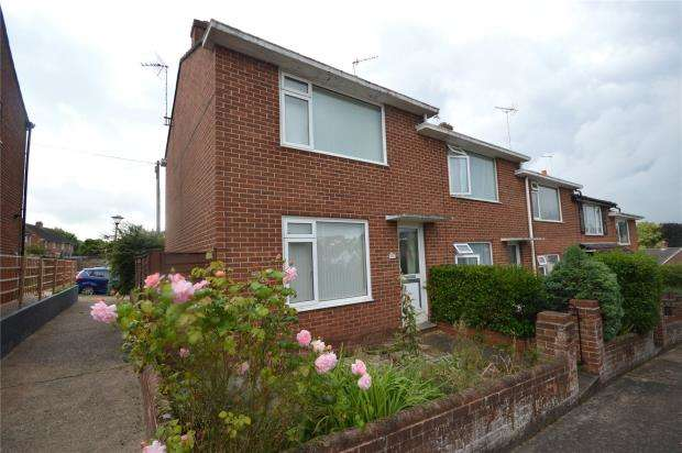 2 Bedrooms End Of Terrace House for sale in Salters Road, Exeter, Devon