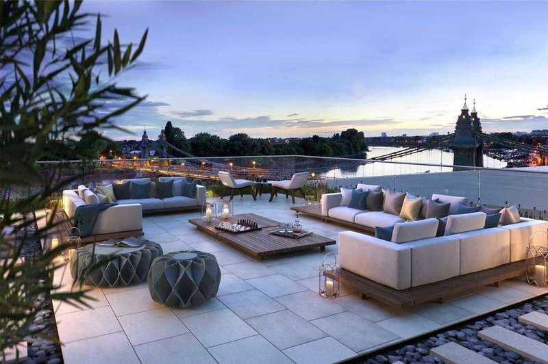 3 Bedrooms Apartment Flat for sale in Queens Wharf, Hammersmith, London