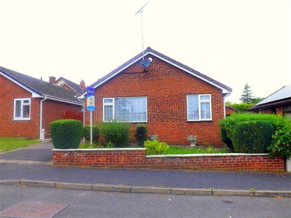 2 Bedrooms Bungalow for sale in Meadow View, Chesterfield