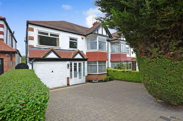 5 Bedrooms Semi Detached House for sale in Blockley Road, North Wembley, Middlesex