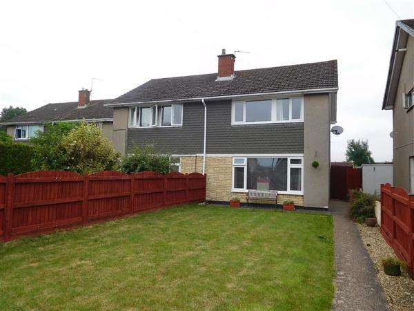 3 Bedrooms Semi Detached House for sale in Woodstock Way, Caldicot