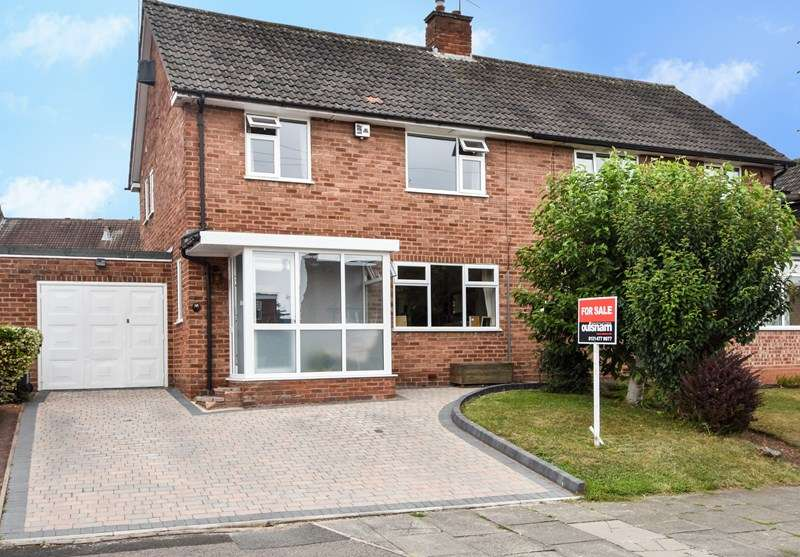 3 Bedrooms Semi Detached House for sale in St Denis Road, Selly Oak, BOURNVILLE VILLAGE TRUST