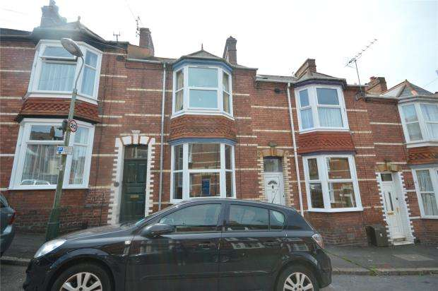 2 Bedrooms Terraced House for sale in Herschell Road, Mount Pleasant, Exeter, Devon