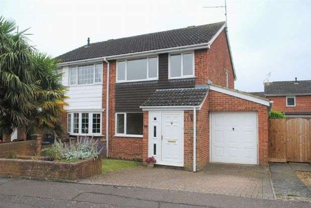 3 Bedrooms Semi Detached House for sale in Obelisk Rise, Kingsthorpe, Northampton NN2 8UA