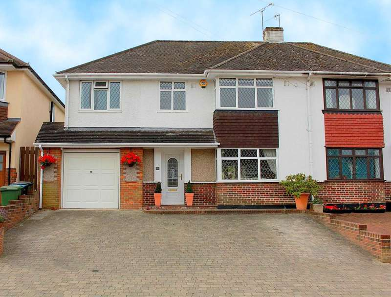 4 Bedrooms Semi Detached House for sale in 4 BED SEMI with ENSUITE to MASTER in Mountfield Road, Hemel Hempstead
