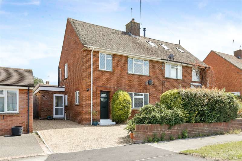 3 Bedrooms Semi Detached House for sale in Waborne Road, Bourne End, Buckinghamshire, SL8
