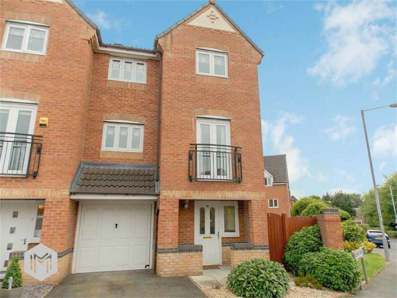 4 Bedrooms Semi Detached House for sale in Madison Park, Westhoughton, Bolton, Lancashire