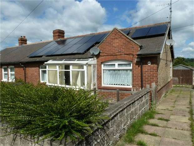 3 Bedrooms Semi Detached Bungalow for sale in The Bungalows, Ebchester, Consett, Durham