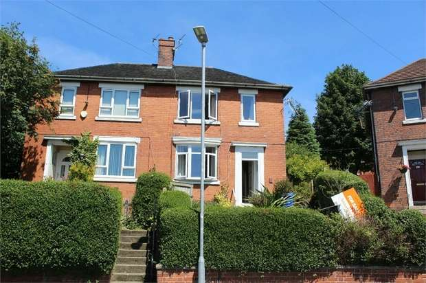 3 Bedrooms Semi Detached House for sale in Hazelhurst Road, Stoke-on-Trent, Staffordshire