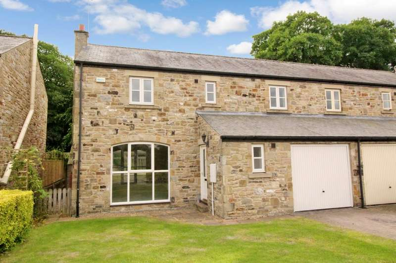4 Bedrooms Semi Detached House for sale in Barrasford, Hexham