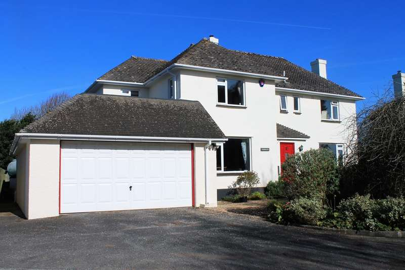 4 Bedrooms Detached House for sale in Livingstone Avenue, Collaton Cross, Yealmpton, Plymouth, Devon