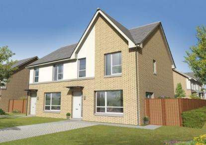 3 Bedrooms Semi Detached House for sale in Barons Vale Phase 2, MacDuff Street, London Road, Glasgow