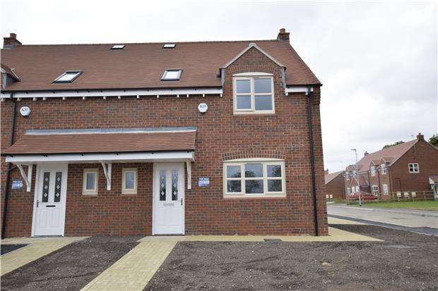 3 Bedrooms Semi Detached House for sale in Plot 33, The Cranham, Pennycress Fields, Stoke Orchard, Cheltenham, Glos, GL52 7SJ