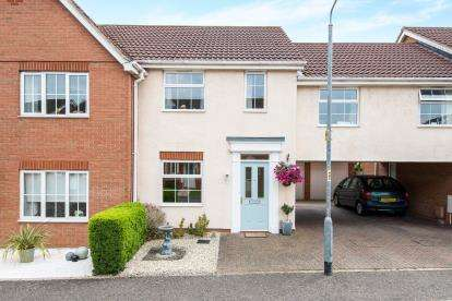 3 Bedrooms Terraced House for sale in Attleborough, Norfolk, Norwich
