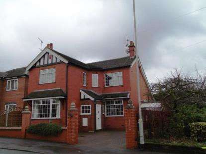 3 Bedrooms Detached House for sale in New Road, Bignall End, Stoke-On-Trent, Staffordshire